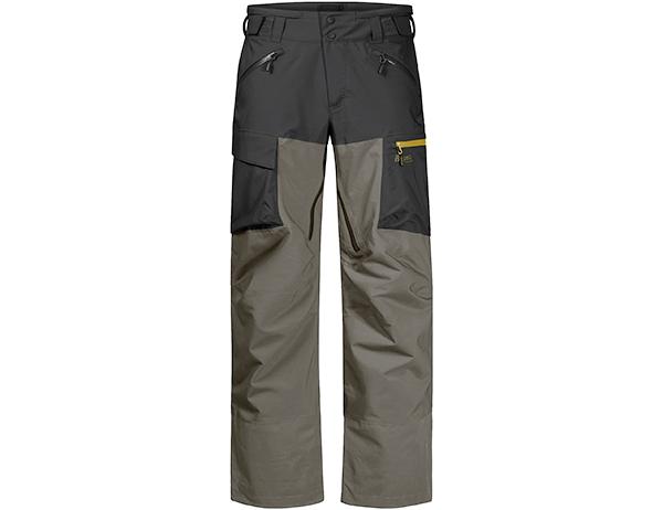 Мъжки хардшел ски панталон с изолация Bergans Hafslo Insulated Pants Green Mud