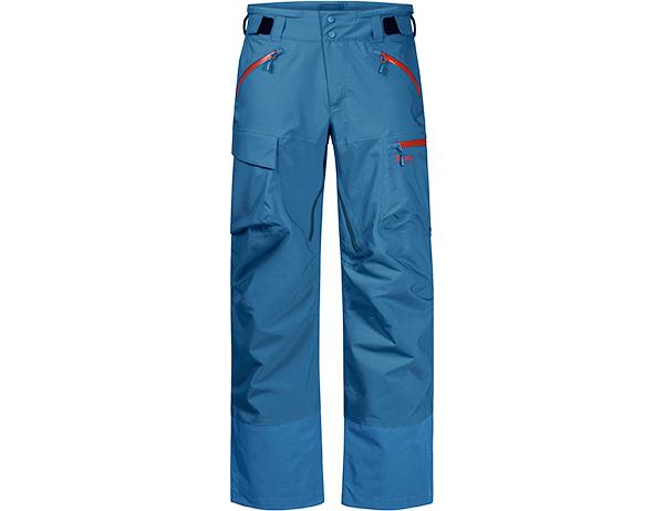 Мъжки ски панталон с изолация Bergans Hafslo Insulated Pants Stone Blue/Lava