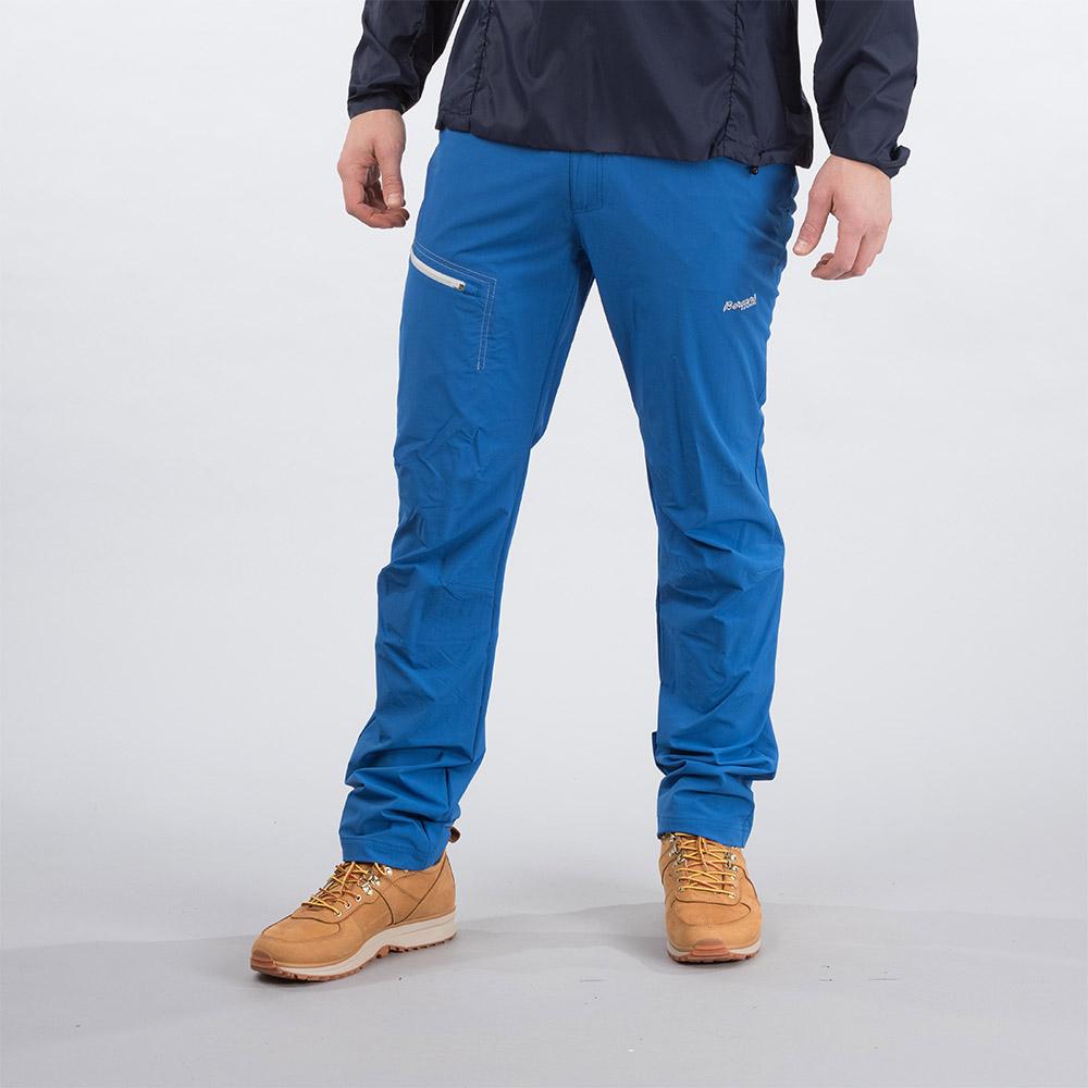 Лице на туристически панталон Bergans Moa Pants Classic Blue 2020