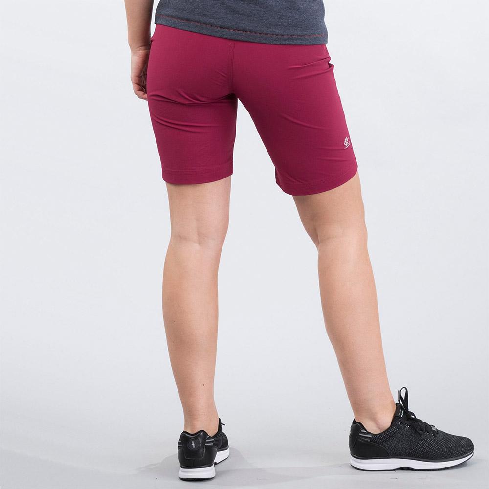 Гръб на дамски къс панталон Bergans Moa W Shorts Beet Red 2020