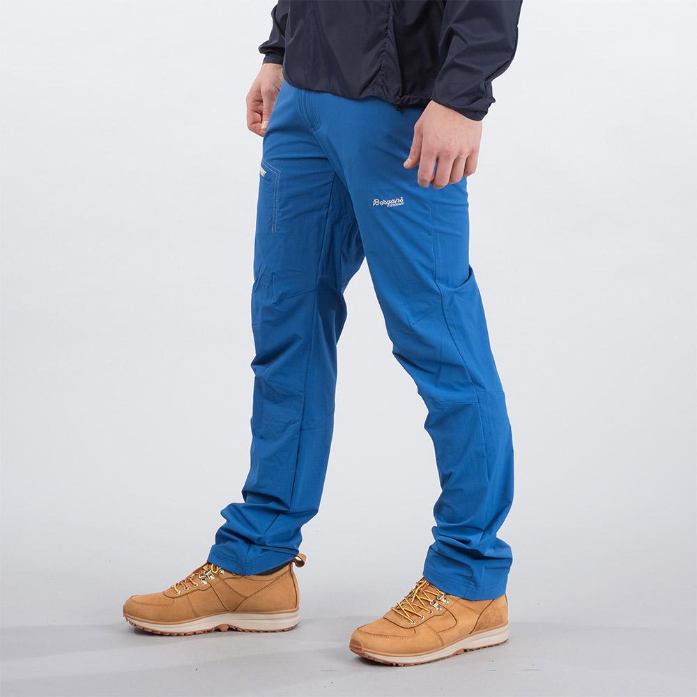 Профил на туристически панталон Bergans Moa Pants Classic Blue 2020