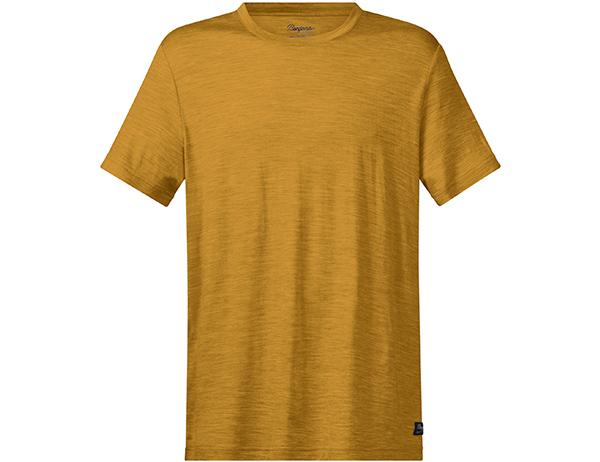 Bergans Oslo Wool Tee Mustard Yellow 2021