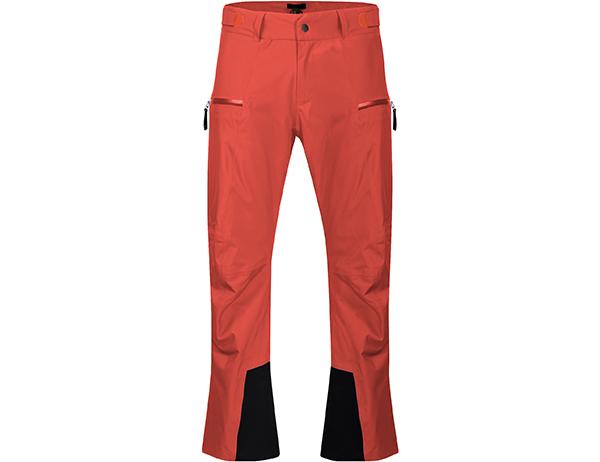 Мъжки ски панталон с изолация Bergans Stranda Insulated Lava/Bright Magma