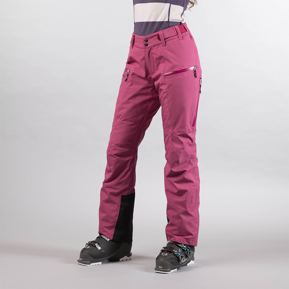 Дамски ски панталон с изолация Bergans Stranda Insulated W Beet Red