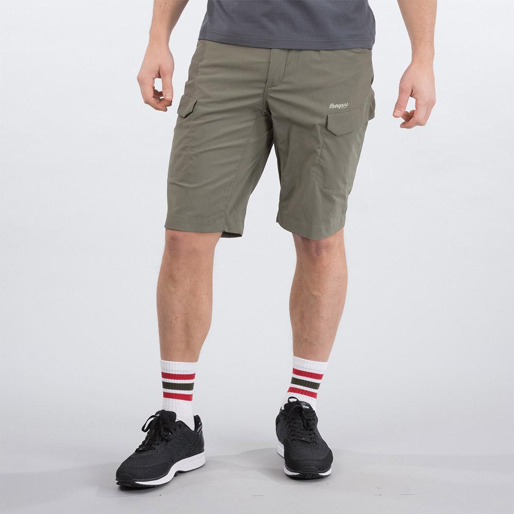 Лице на къс панталон Bergans Utne Shorts Green Mud 2020
