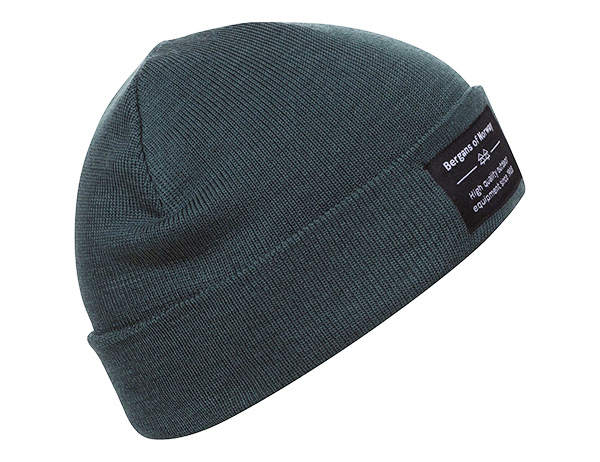 Шапка Bergans Fine Knit Beanie Forest Frost 2021