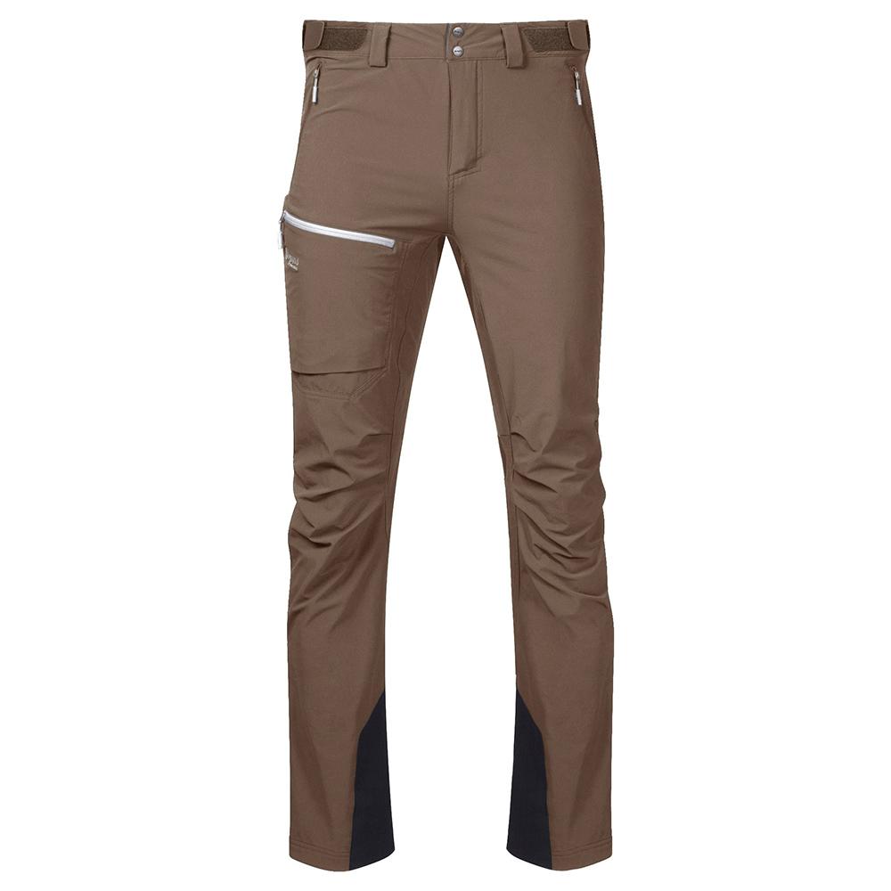 Мъжки туристически софтшел панталон Bergans Breheimen Forest Brown 2021