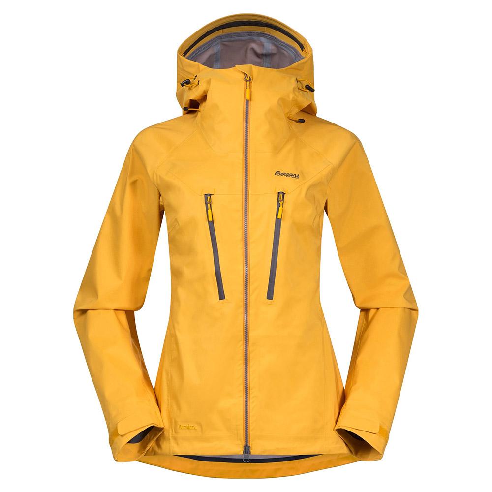 Дамско хардшел яке Bergans Cecilie 3L Jacket Lt Golden Yellow 2021