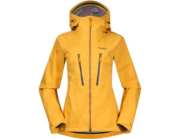 Дамско хардшел яке Bergans Cecilie 3L Jacket Lt Golden Yellow 2022
