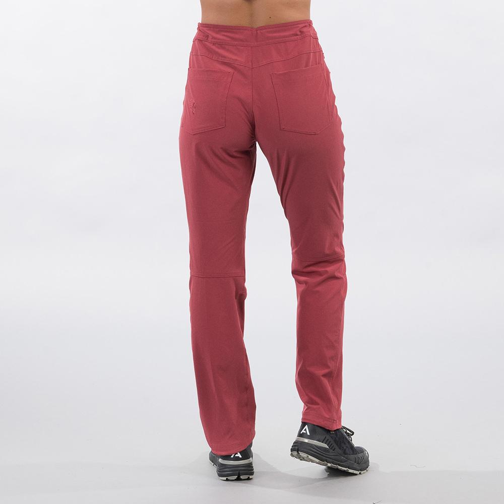 Back Bergans Cecilie Flex Pants Dark Creamy Rouge 2021