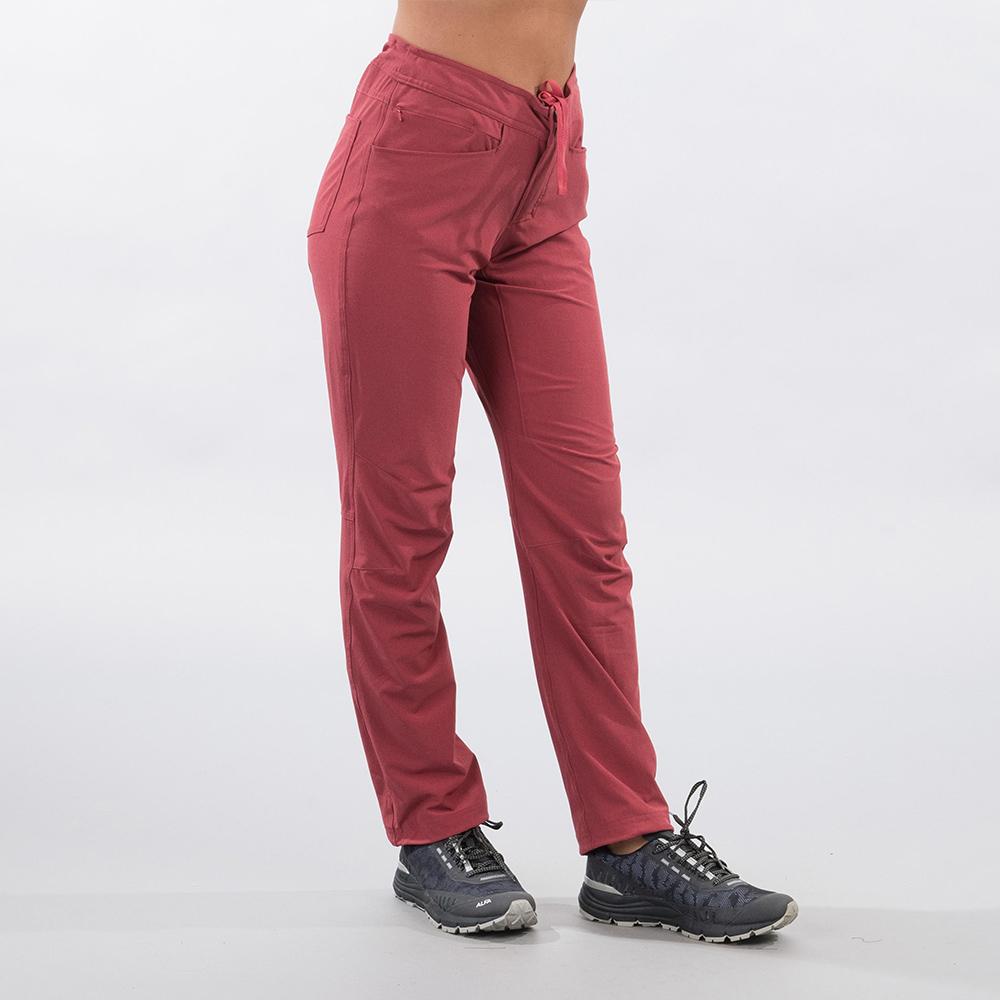 Side Bergans Cecilie Flex Pants Dark Creamy Rouge 2021