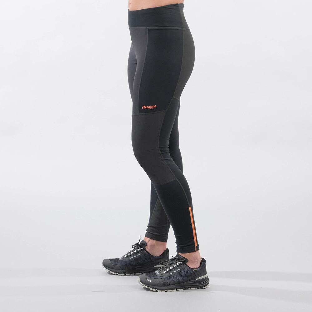 Дамски спортно-туристически панталон Bergans Fløyen V2 W Pants Solid Charcoal 2021