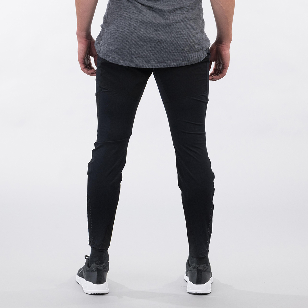 Мъжки спортно-туристически панталон Bergans Fløyen V2 Pants Solid Charcoal 2021