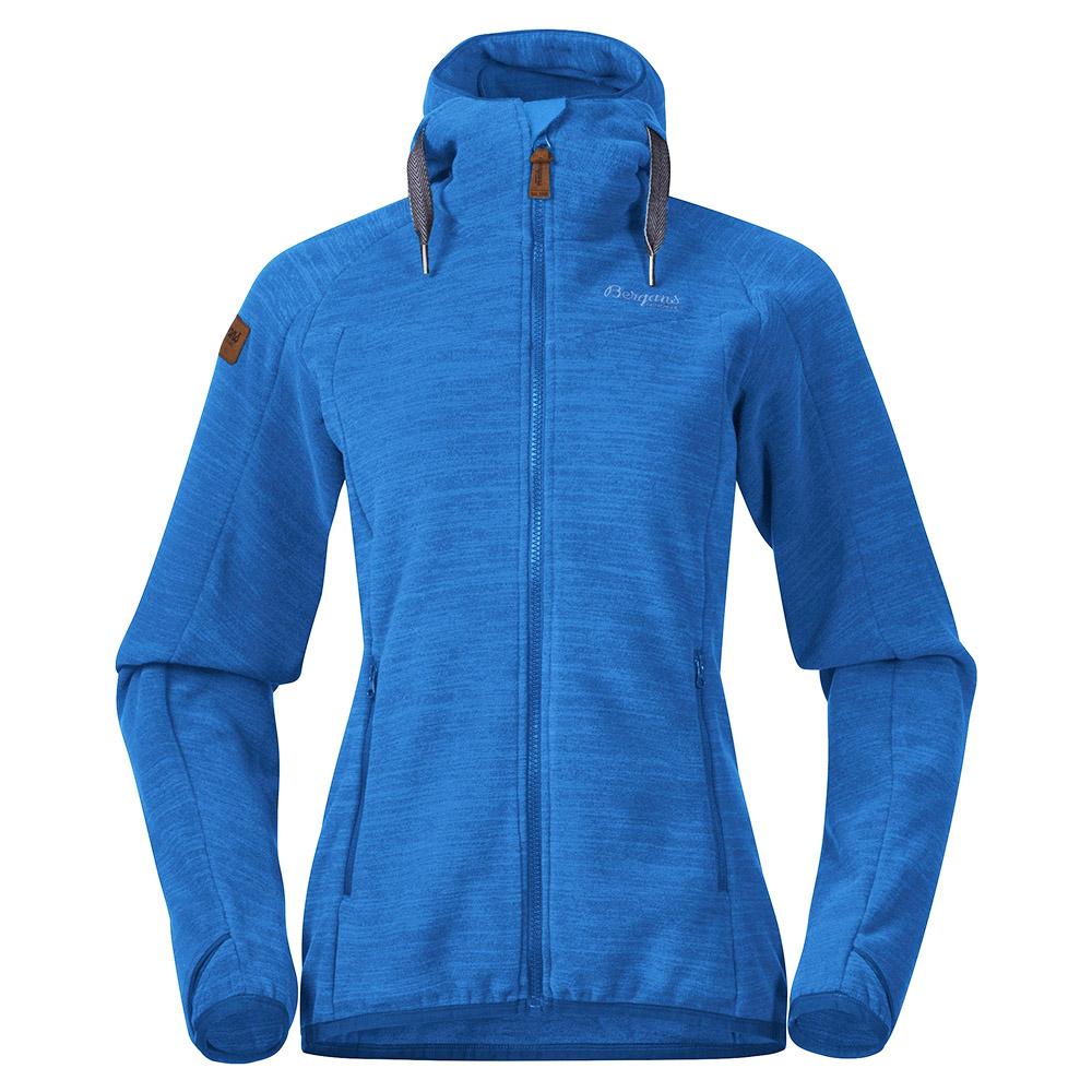 Дамско поларено яке Bergans Hareid Fleece W Jacket Dark Riviera Blue 2021