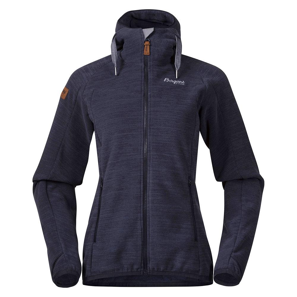 Дамско поларено яке Bergans Hareid Fleece W Jacket Dark Navy Melange 2021