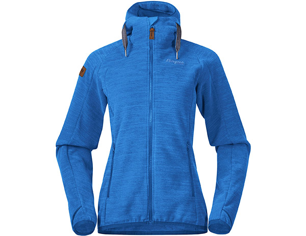 Bergans Hareid Fleece W Jacket Dark Riviera Blue 2021