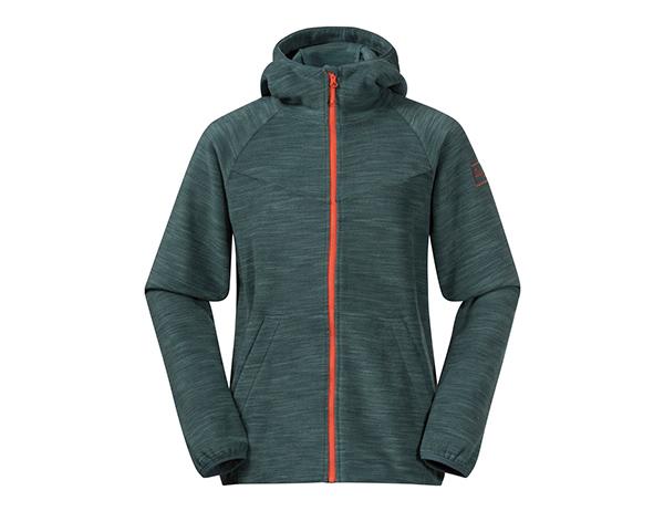 Детско поларено яке Bergans Hareid Youth Jacket Forest Frost Melange 2021