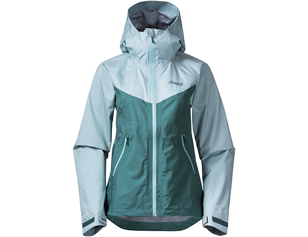 Дамско хардшел яке Bergans Letto V2 3L W Jacket Forest Frost 2021