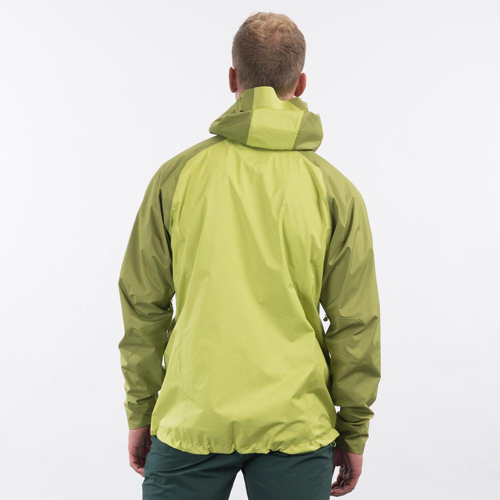 Back Bergans Letto V2 3L Jacket Green Oasis 2021