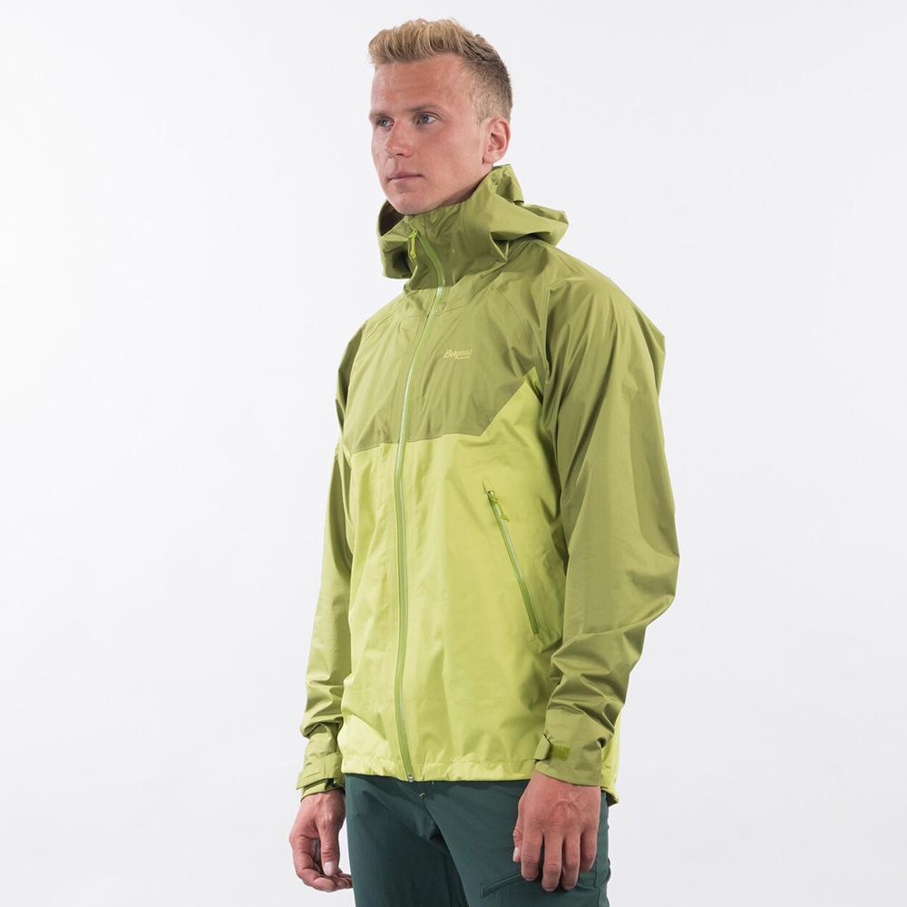 Side Bergans Letto V2 3L Jacket Green Oasis 2021
