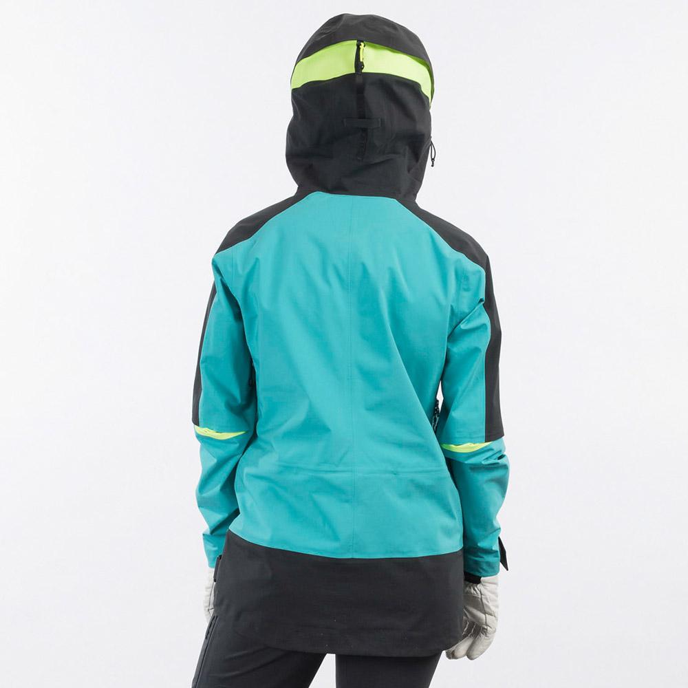 Дамско ски яке Bergans Myrkdalen V2 3L W Jacket Light Glacier Lake 2021