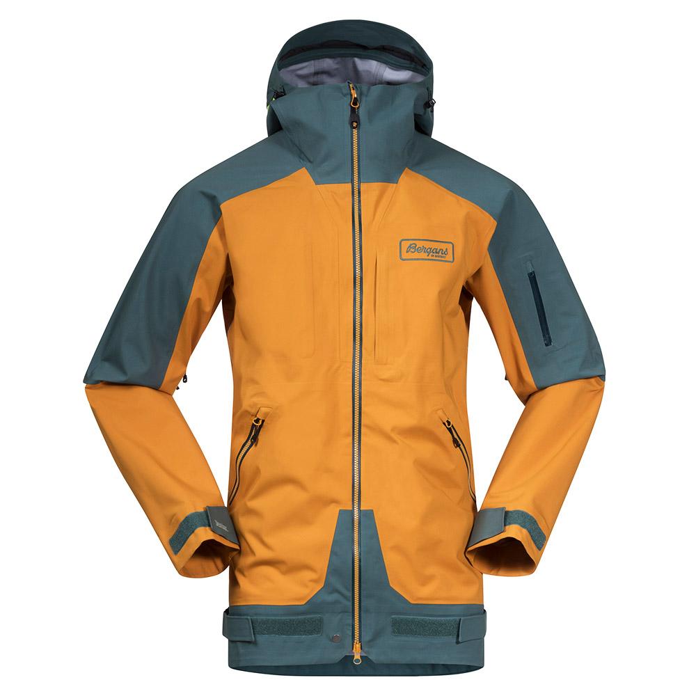 Мъжко ски яке Bergans Myrkdalen V2 3L Jacket Inca Gold / Forest Frost 2021