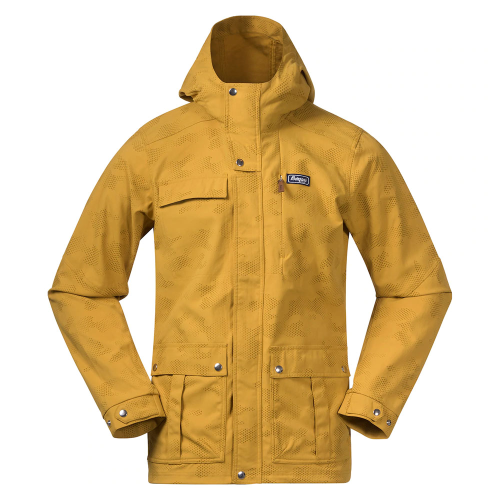 Мъжко яке Bergans Nordmarka Jacket Mustard Yellow Camo 2021