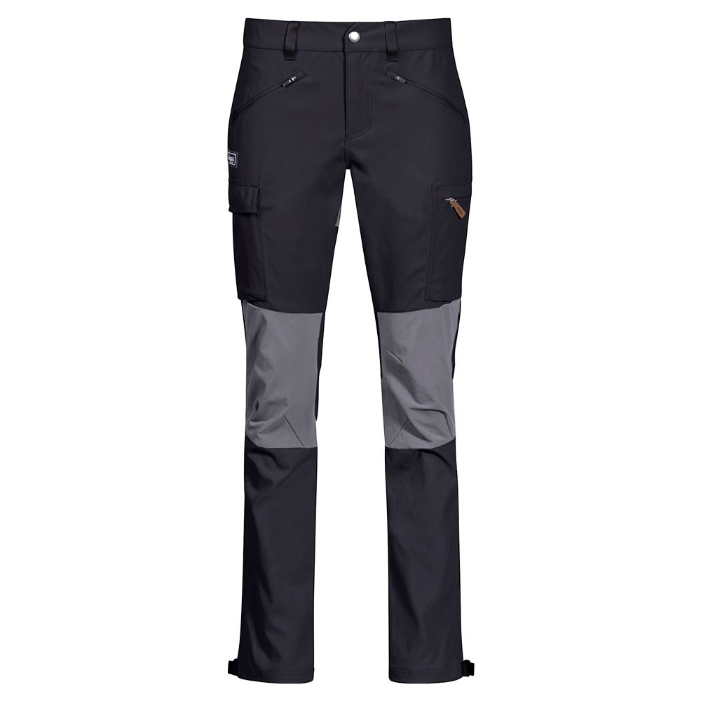 Дамски туристически панталон Bergans Nordmarka Hybrid W Black / Solid Dark Grey 2021