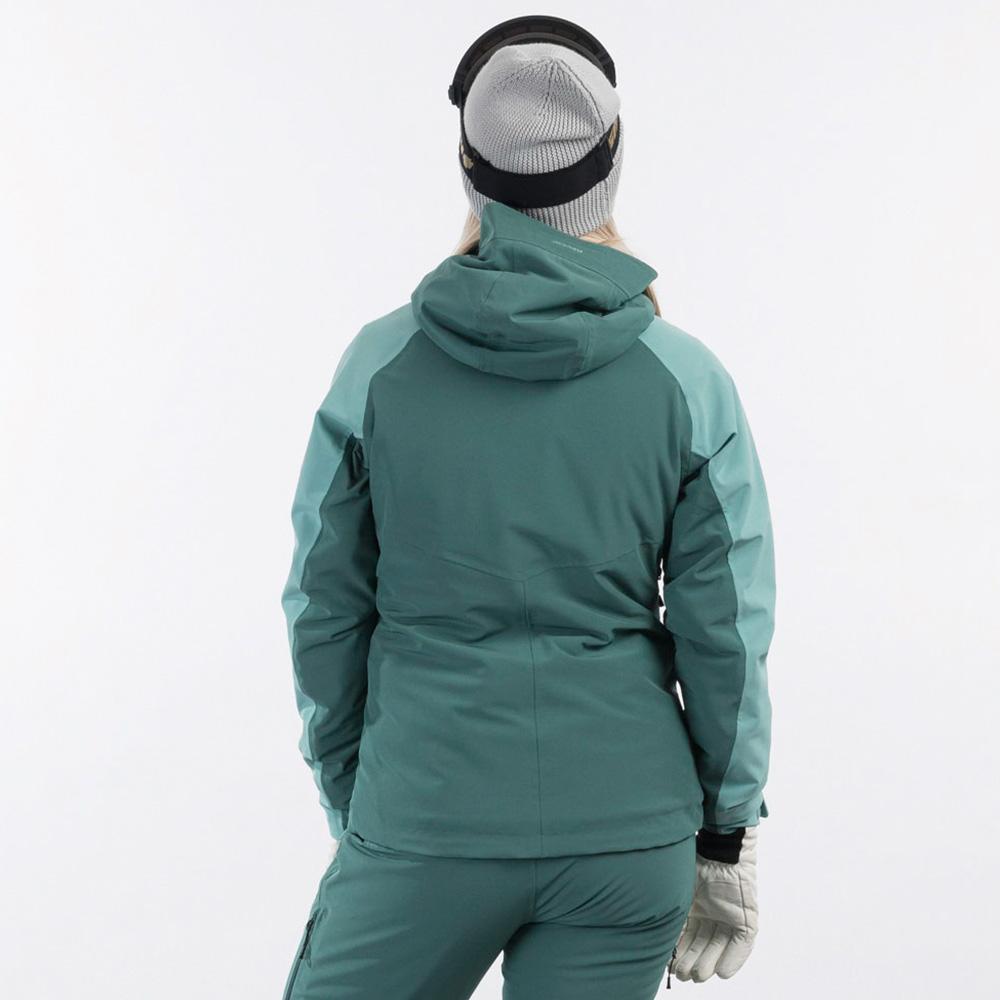 Дамско ски яке с изолация Bergans Oppdal Insulated W Jacket Light Forest Frost 2021