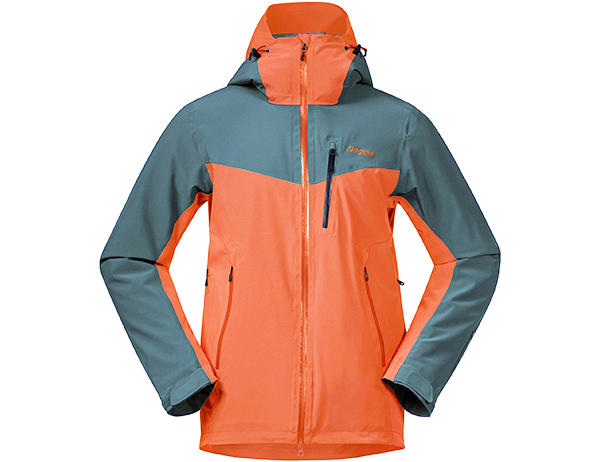 Мъжко ски яке с изолация Bergans Oppdal Insulated Jacket Bright Magma / Forest Frost 2021