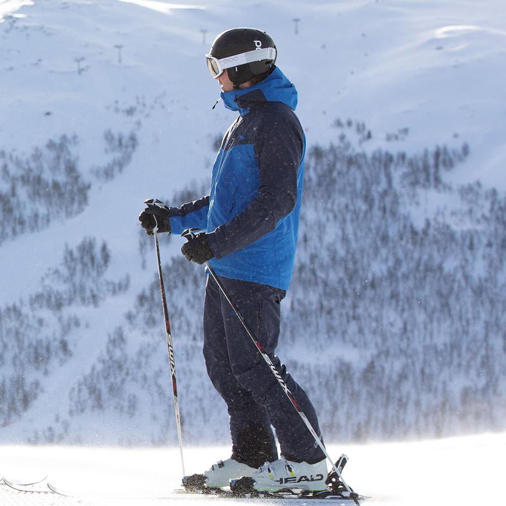 Мъжко хардшел ски яке Bergans Oppdal Insulated Jacket пристягане отдолу
