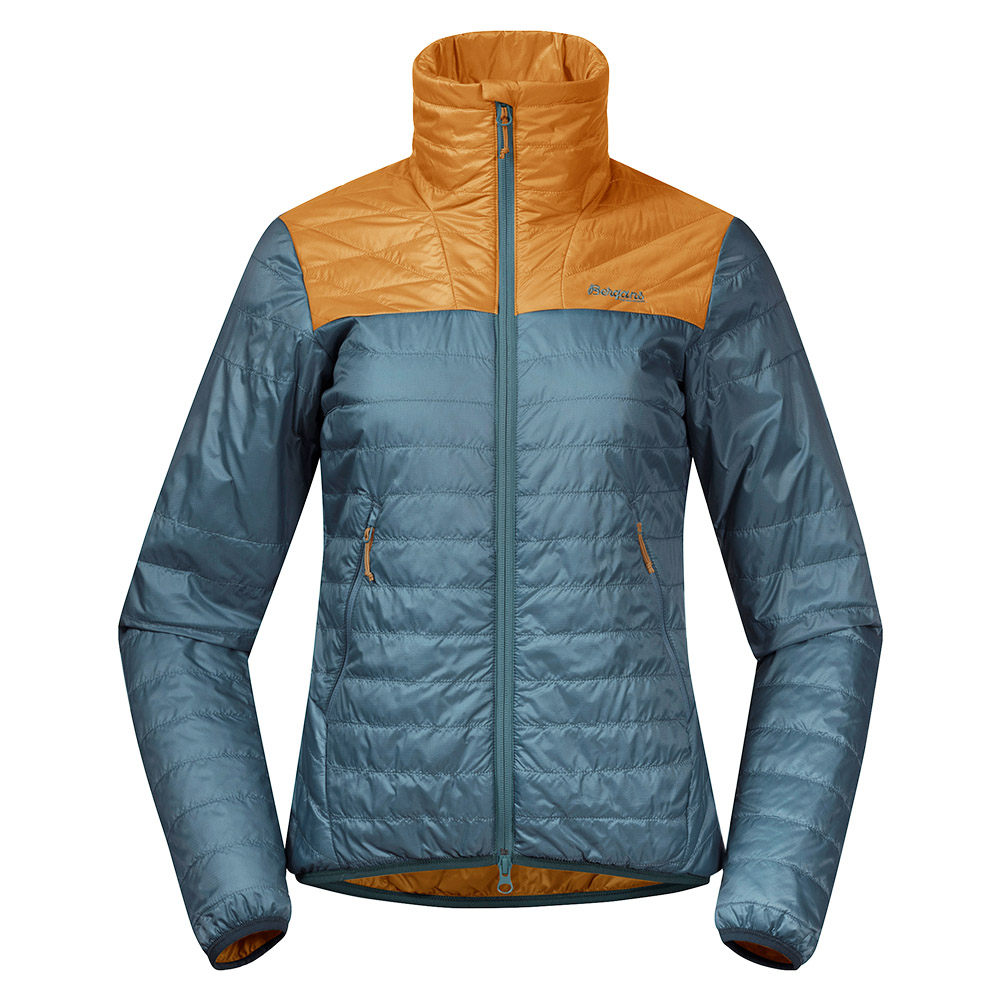 Дамско яке с изолация Bergans Røros Light Insulated W Jacket Forest Frost 2021