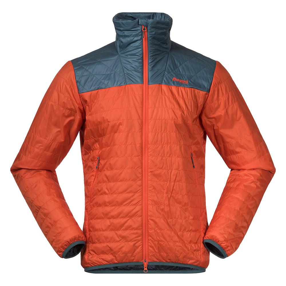 Мъжко яке с изолация Bergans Røros Light Insulated Jacket Bright Magma 2021