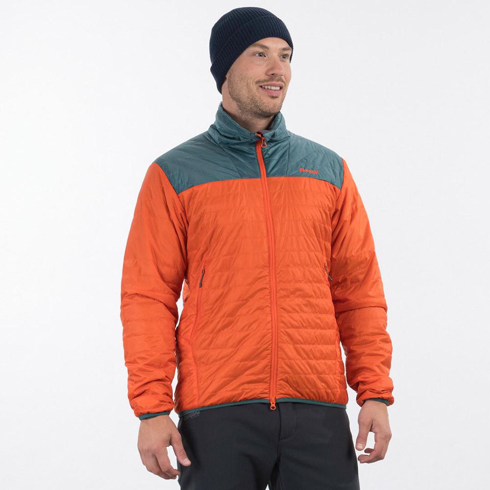Лице на мъжко яке с изолация Bergans Røros Light Insulated Jacket Bright Magma 2021