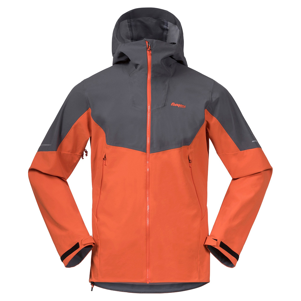 Мъжко софтшел яке Bergans Senja Hybrid Softshell Jacket Bright Magma 2021