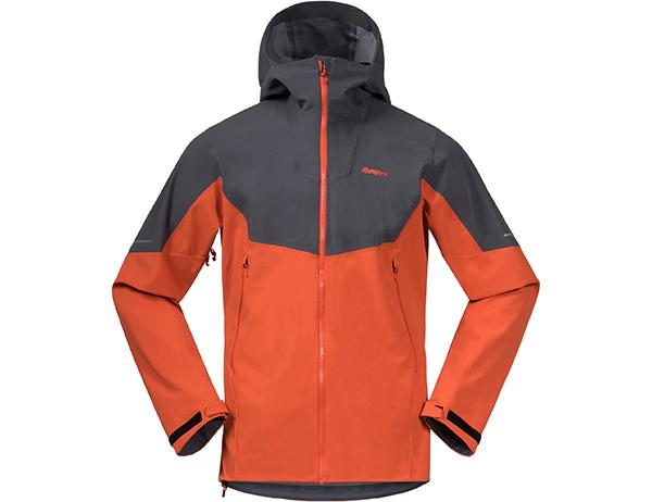 Bergans Senja Hybrid Softshell Jacket Bright Magma 2021