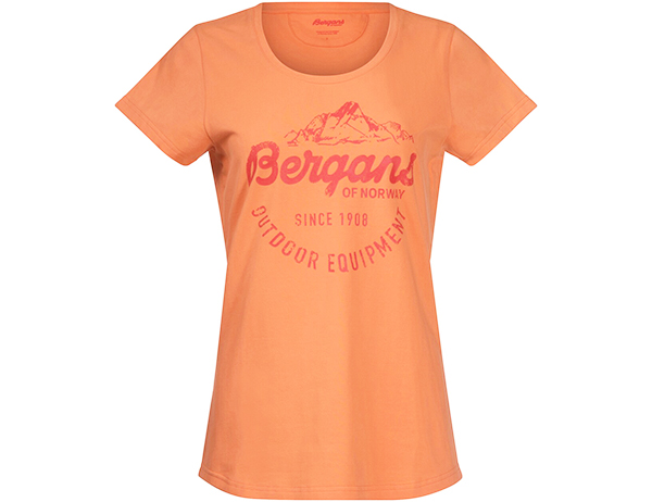 Bergans Classic W Tee Cantaloupe 2021
