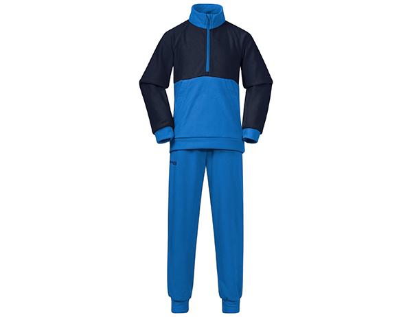 Детски поларен комплект Bergans Smådøl V4 Kids Set Strong Blue / Navy 2021