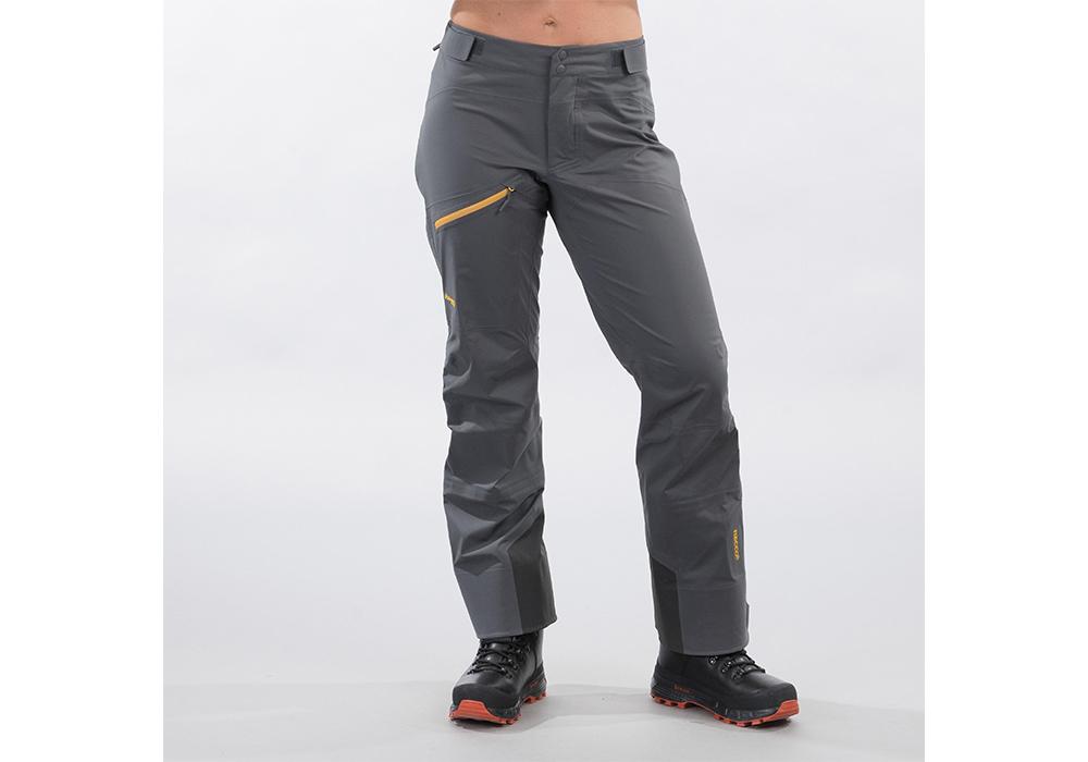 Дамски хардшел панталон Bergans Cecilie 3L Pants Solid Dark Grey / Golden Yellow 2022