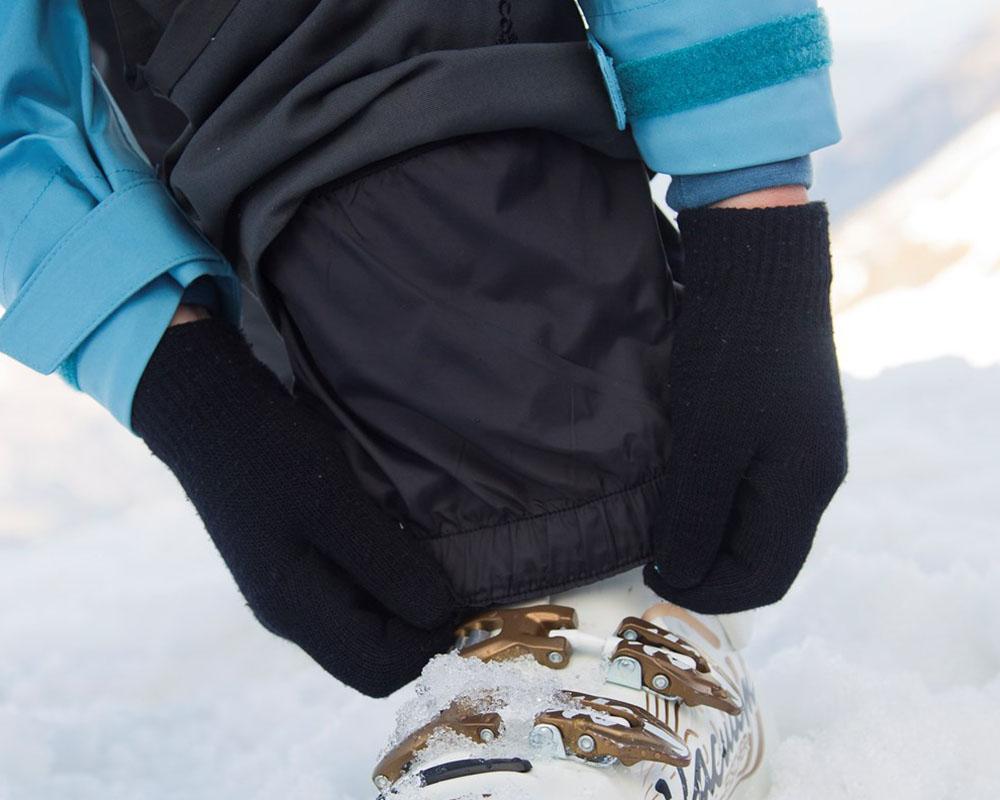 Дамски ски панталон с изолация вътрешни гети
