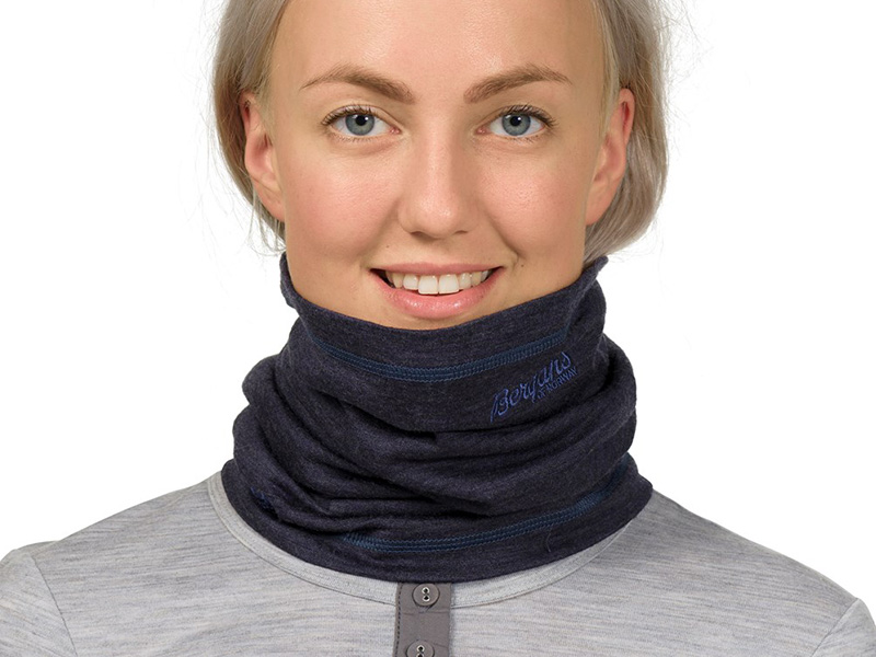 Мерино шал-лента Bergans Cecilie Neck Warmer шал жени