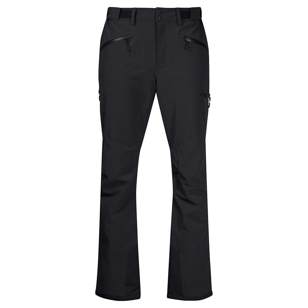 Мъжки хардшел ски панталон Bergans Oppdal Pants Black/Solid Charcoal 2020