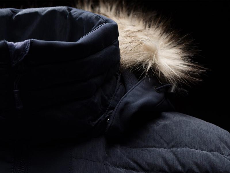 Мъжко пухено яке Bergans Bodø Down Jacket качулка с козина