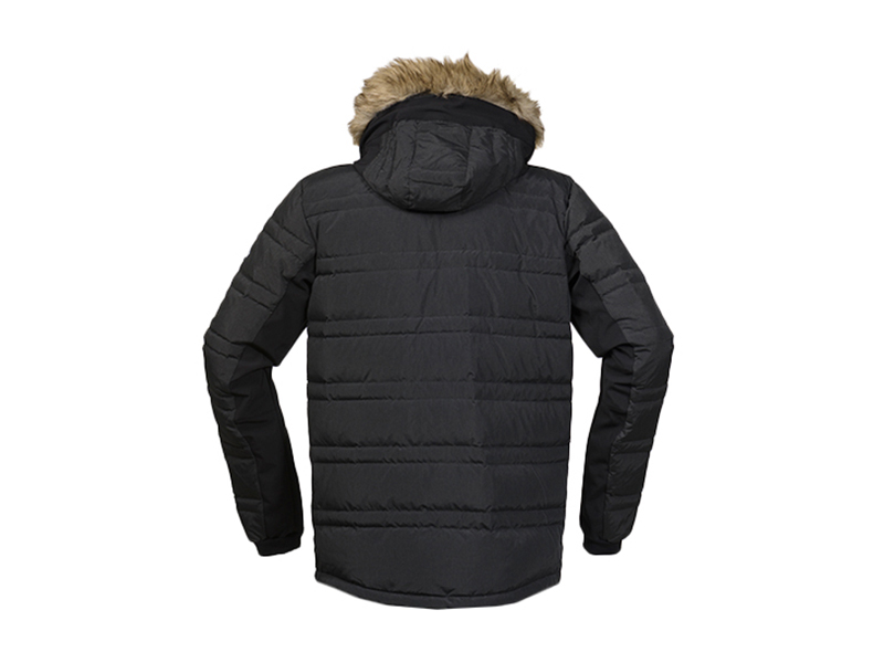 Мъжко пухено яке Bergans Bodø Down Jacket гръб