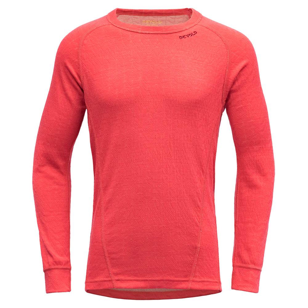 Детска термо блуза с дълъг ръкав Devold Duo Active Junior Shirt Poppy 2021