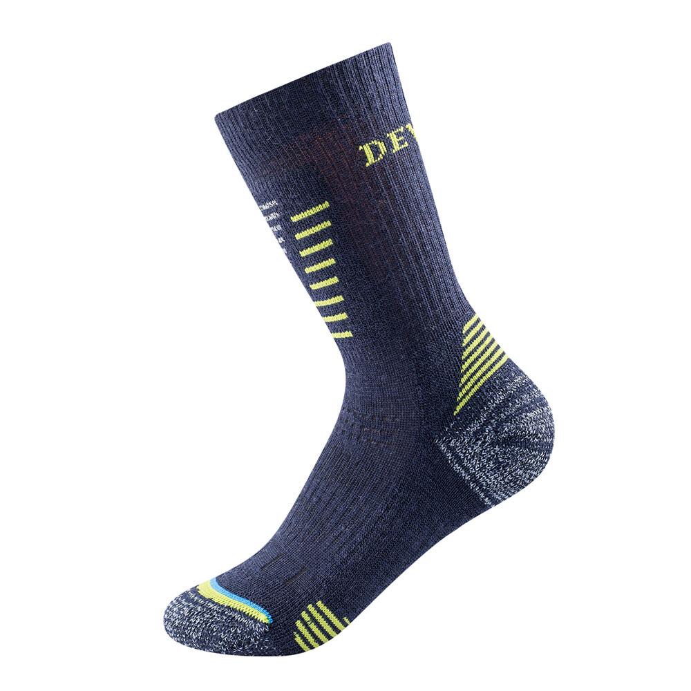 Детски туристически чорапи Devold Hiking Medium Kid Socks Mistral 2021