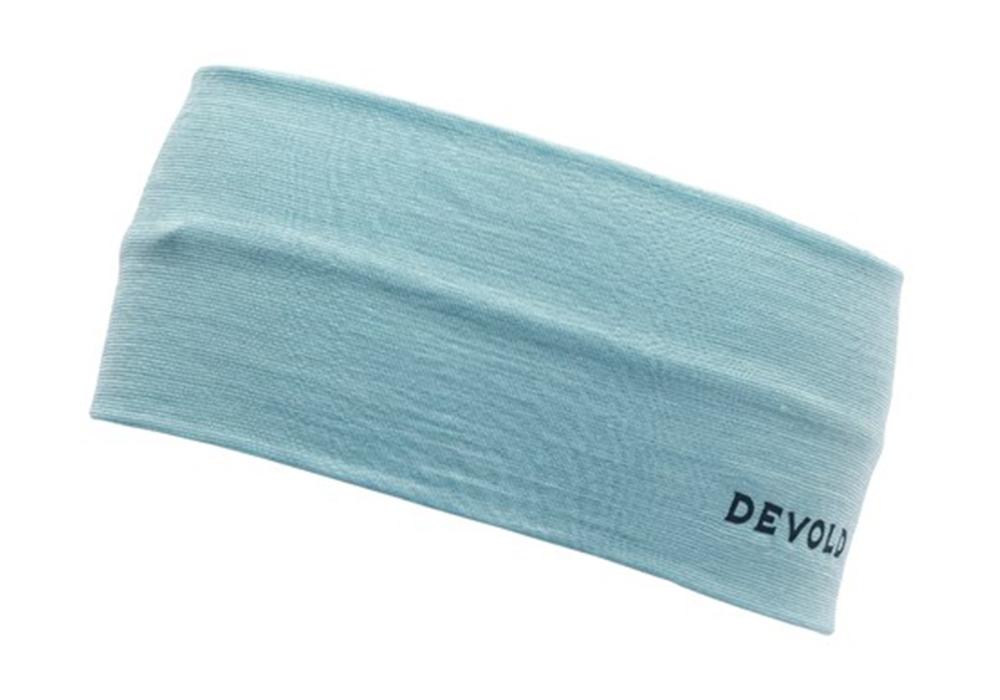 Лента за глава от мерино вълна Devold Running Headband w/ Reflex Cameo 2021