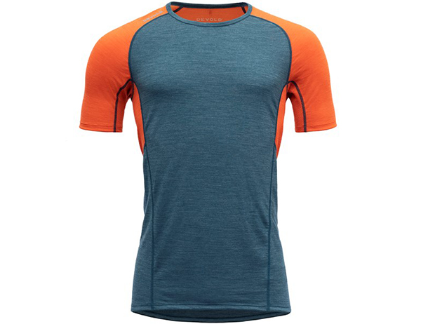 Мъжка тениска за бягане Devold Running Man Tee Pond 2021