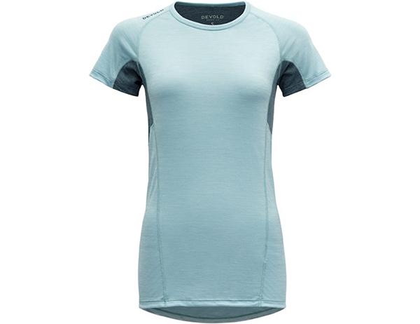 Дамска тениска за бягане Devold Running Woman Tee Cameo 2021