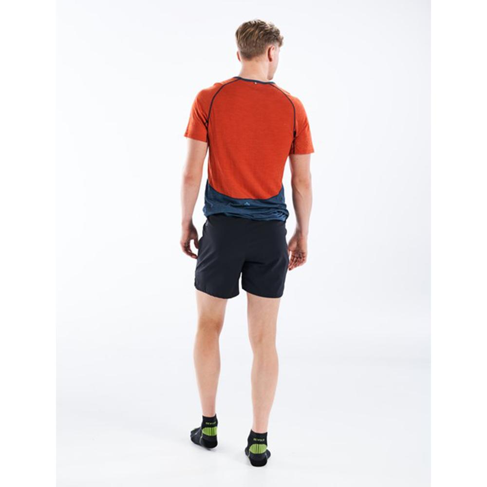 Гръб на мъжка тениска за бягане Devold Running Man Tee Pond 2021